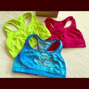 3 Victoria's Secret sports bras